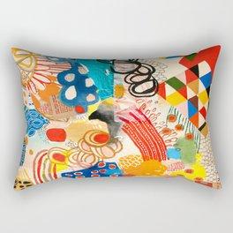 Wallpaper and Diamonds Part I Rectangular Pillow