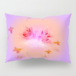 Lily in the Clouds Pillow Sham