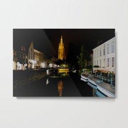 In Bruges Metal Print