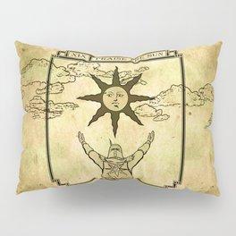 Praise The Sun - Tarot Solaire Pillow Sham