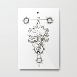 Major Arcana XII The Hanged Man Metal Print