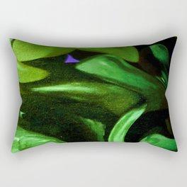 Beyond The Trees Into the Sky// Art Print Rectangular Pillow