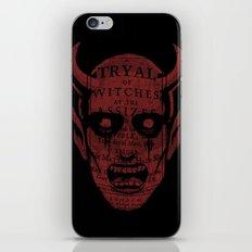 Satan iPhone & iPod Skin