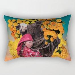 Always Forward Rectangular Pillow