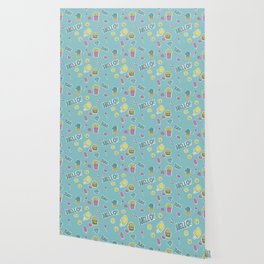 Food pattern Wallpaper