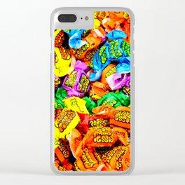 Candy Fix Clear iPhone Case