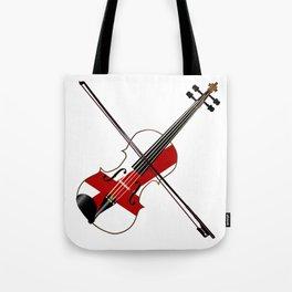 Alabama State Fiddle Tote Bag