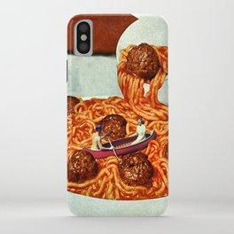Meatballs iPhone Case