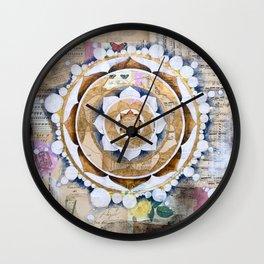 Music Mandala Wall Clock