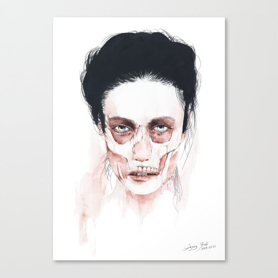 Deep cuts Canvas Print