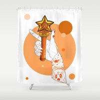 venus Shower Curtains featuring Venus by scoobtoobins