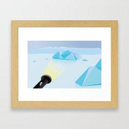 """How To Clock a Glacier"" by Francesco Izzo for Nautilus Framed Art Print"
