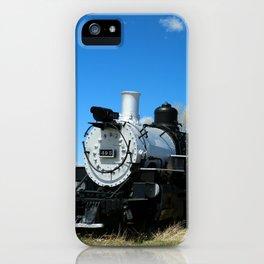 Denver & Rio Grande Steam Engine iPhone Case