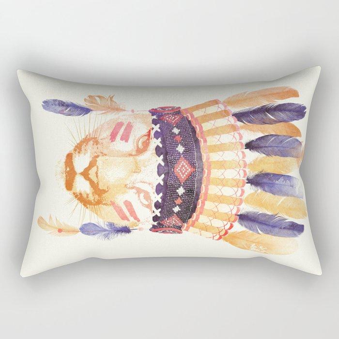 Big chief Rectangular Pillow