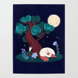 Bedtime Sweet Dreams For All Magical Creatures Poster