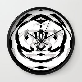 Unwind Spiral 2 Wall Clock