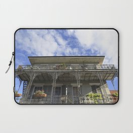 New Orleans French Quarter Bliss Laptop Sleeve