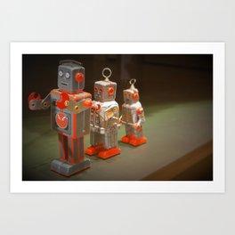 Robot Conga Art Print