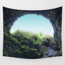 Ancient Lava Tube: Big Island of Hawaii Wall Tapestry