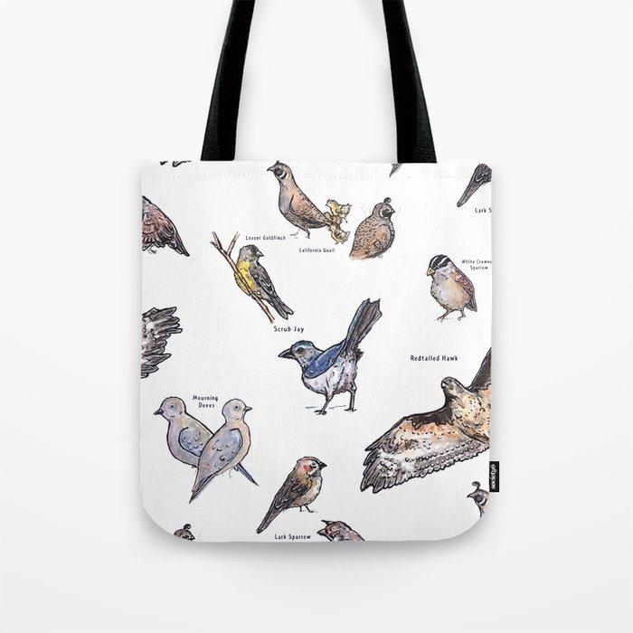 Northern Nevada Backyard Birds Tote Bag