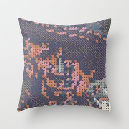 Digital expressionism 022 Throw Pillow