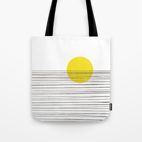 Sun and River Tote Bag