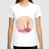 oriental T-shirts featuring ORIENTAL DREAM by INA FineArt