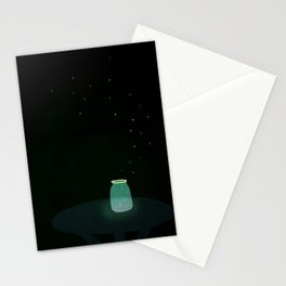 firefly jar Stationery Cards