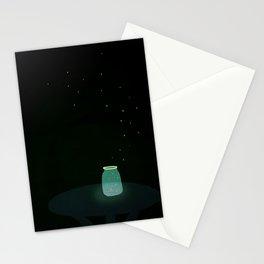 firefly jar Stationery Cards