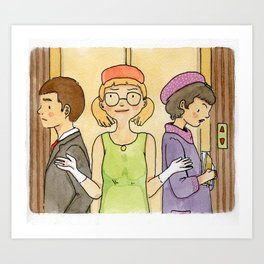 Well, it's been a long day (from How to Succeed in Business Without Really Trying) Art Print