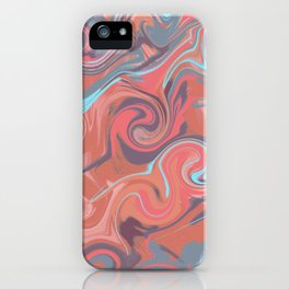 Psychedelic cute colorful  iPhone Case