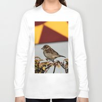 sparrow Long Sleeve T-shirts featuring Sparrow by IowaShots