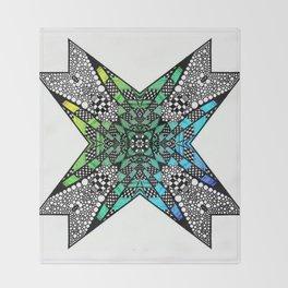 [octagon tunnel] Throw Blanket