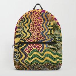 nature gold moisaic Backpack