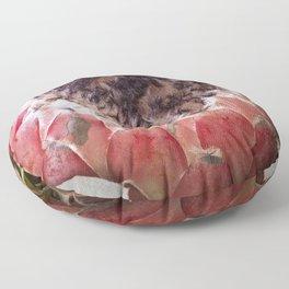 Feather Protea Floor Pillow