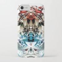 transformer iPhone & iPod Cases featuring Vacío by Andre Villanueva