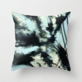 Tethered sky Throw Pillow