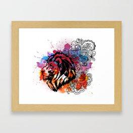 Lion Spirit Framed Art Print
