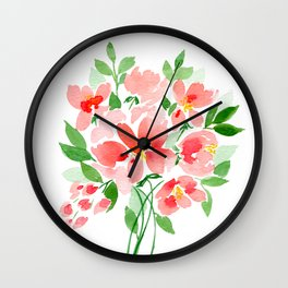 Coral Sea Dreaming Wall Clock