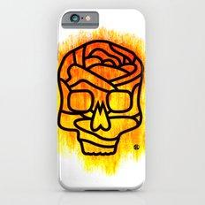 Skull Rose iPhone 6s Slim Case