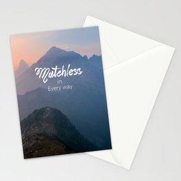 Matchless  Stationery Cards