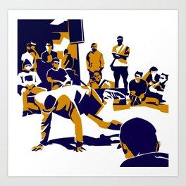 B-Boy Art Print
