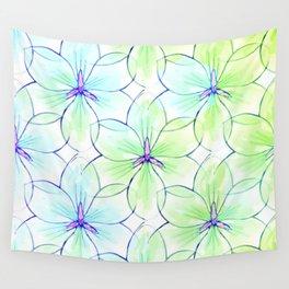 Flower Sketch 7 Wall Tapestry
