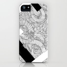 Opposing Insecurities iPhone Case