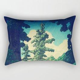 Under the cover of Yanakaden Rectangular Pillow