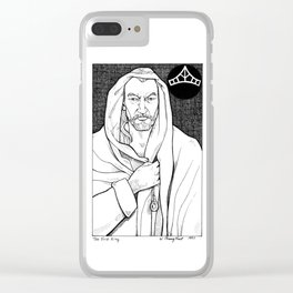 The First King Clear iPhone Case