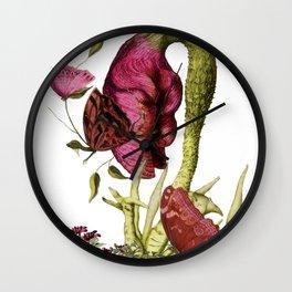 Magic Garden VI Wall Clock
