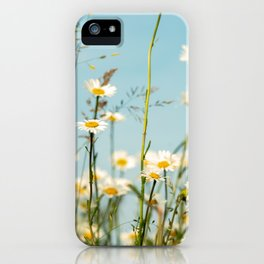 Summer impression of a wild meadow iPhone Case