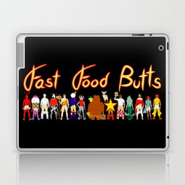 Fast Food Butts with Text Laptop & iPad Skin