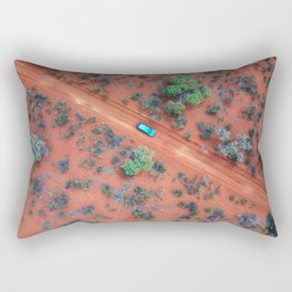 The Australian Outback Roads  Rectangular Pillow